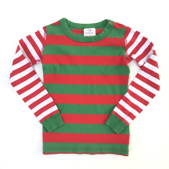 Hanna Andersson Other - Hanna Andersson Christmas red green pajama pj top